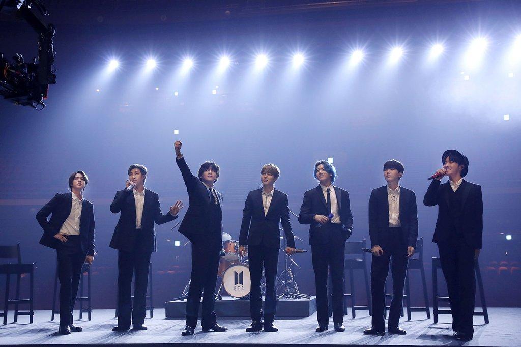 BTS, 영국 '브릿어워즈' 수상 놓쳤지만…한국가수 첫 후보 기록(종합2보)