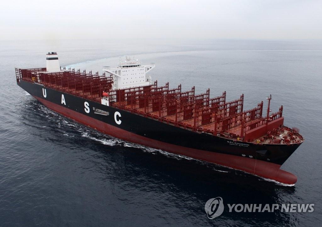 컨테이너선이 수주 1·2위 갈랐다…중국, 지난달 한국 추월