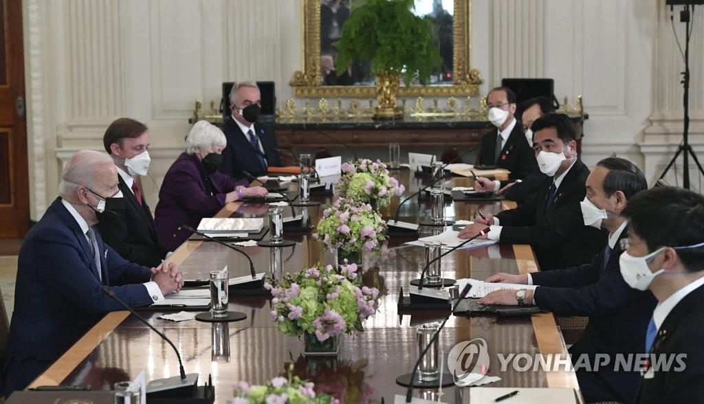 日언론 '한반도 비핵화' 표현 주목…미일회담 때는 '北비핵화'