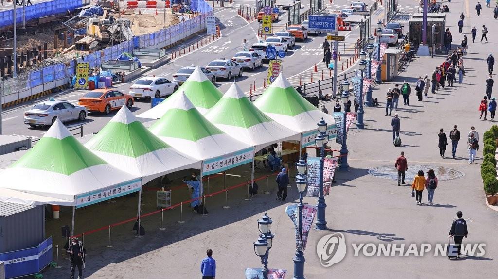 임시 선별검사소서 63명 확진…수도권 52명-비수도권 11명