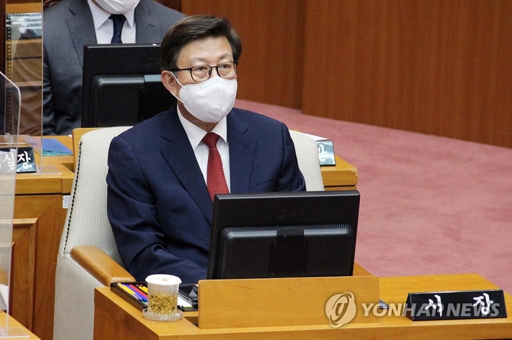 취임 한달 박형준 '갑작스러운 변화보다 안정적 시정 주안점'