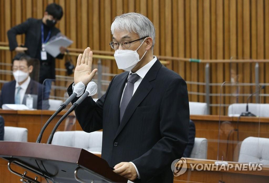 """천대엽 대법관 취임…""""사법부, 초심으로 돌아가야"""""""