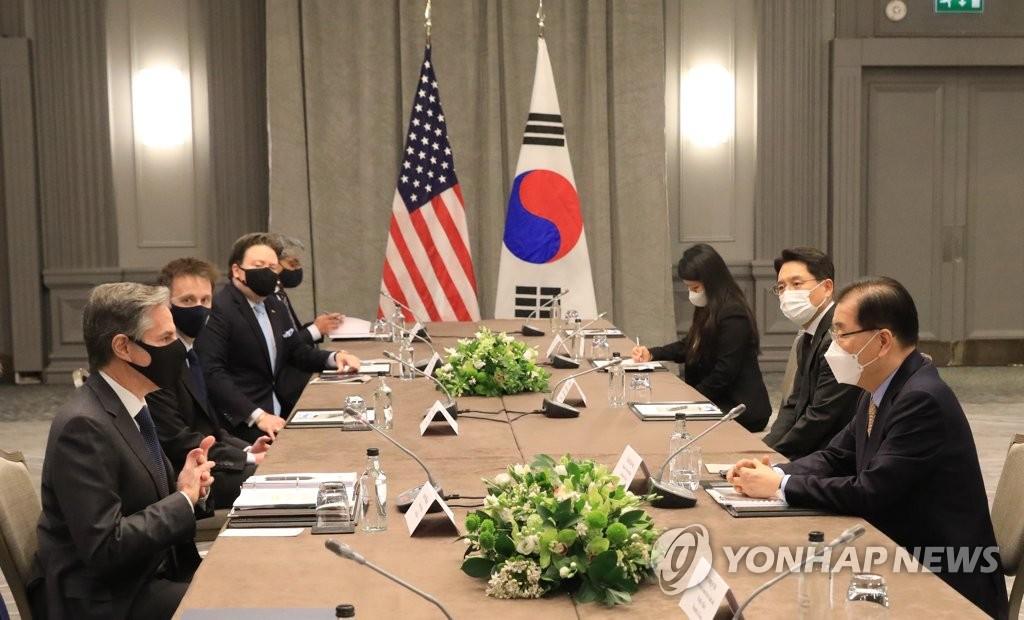 """외교부 """"한일 모두 외교 중심 미국 새 대북정책 긍정 평가"""""""