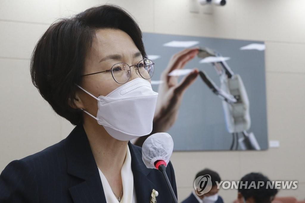 """임혜숙 """"과학기술 혁신 실질적 성과 창출…국산 백신 개발 지원"""""""