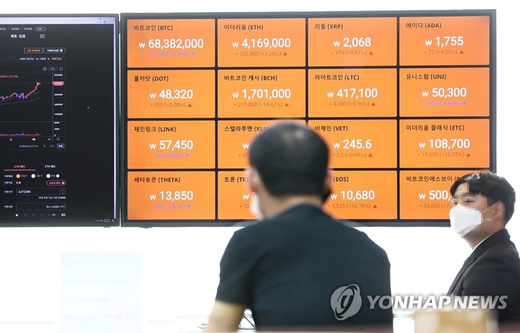4월 코인거래소 앱 1.2억시간 사용…올해 들어 1천100%↑