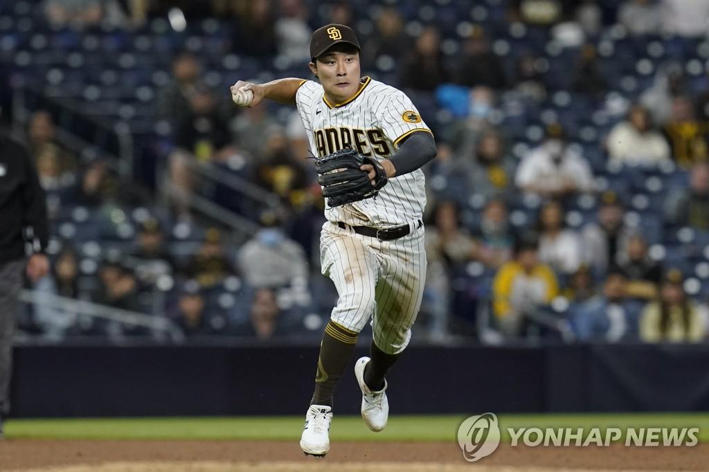 김하성, 김광현과 맞대결…7번 타자 유격수 선발 출전