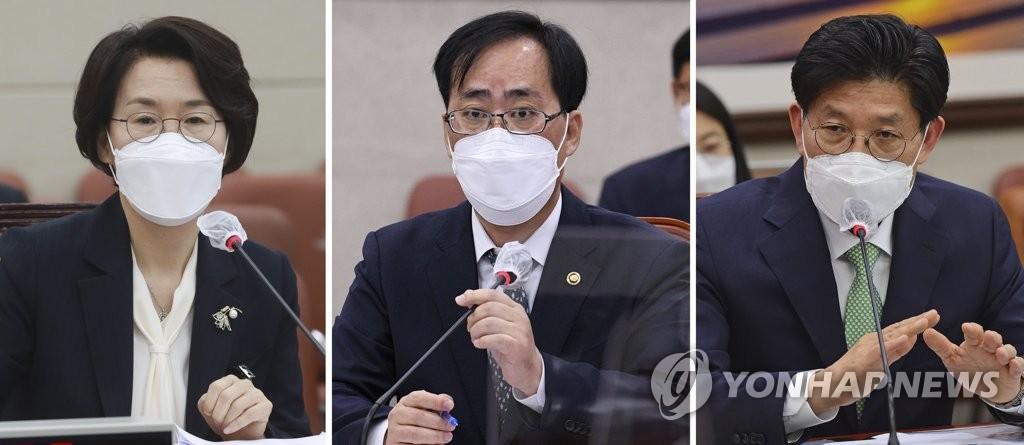 송영길, '장관 후보 3인' 의견수렴 시작…청문 정국 기로에