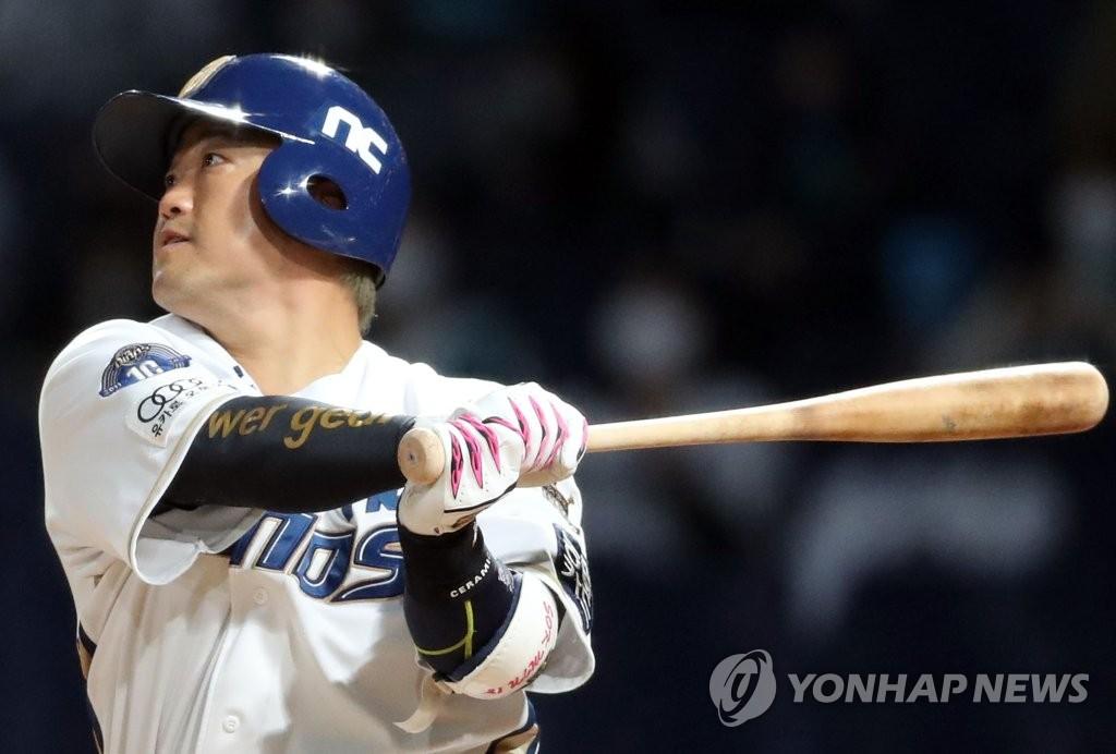 불붙은 NC 박석민, 3안타 6타점 대폭발…5월 타율 6할