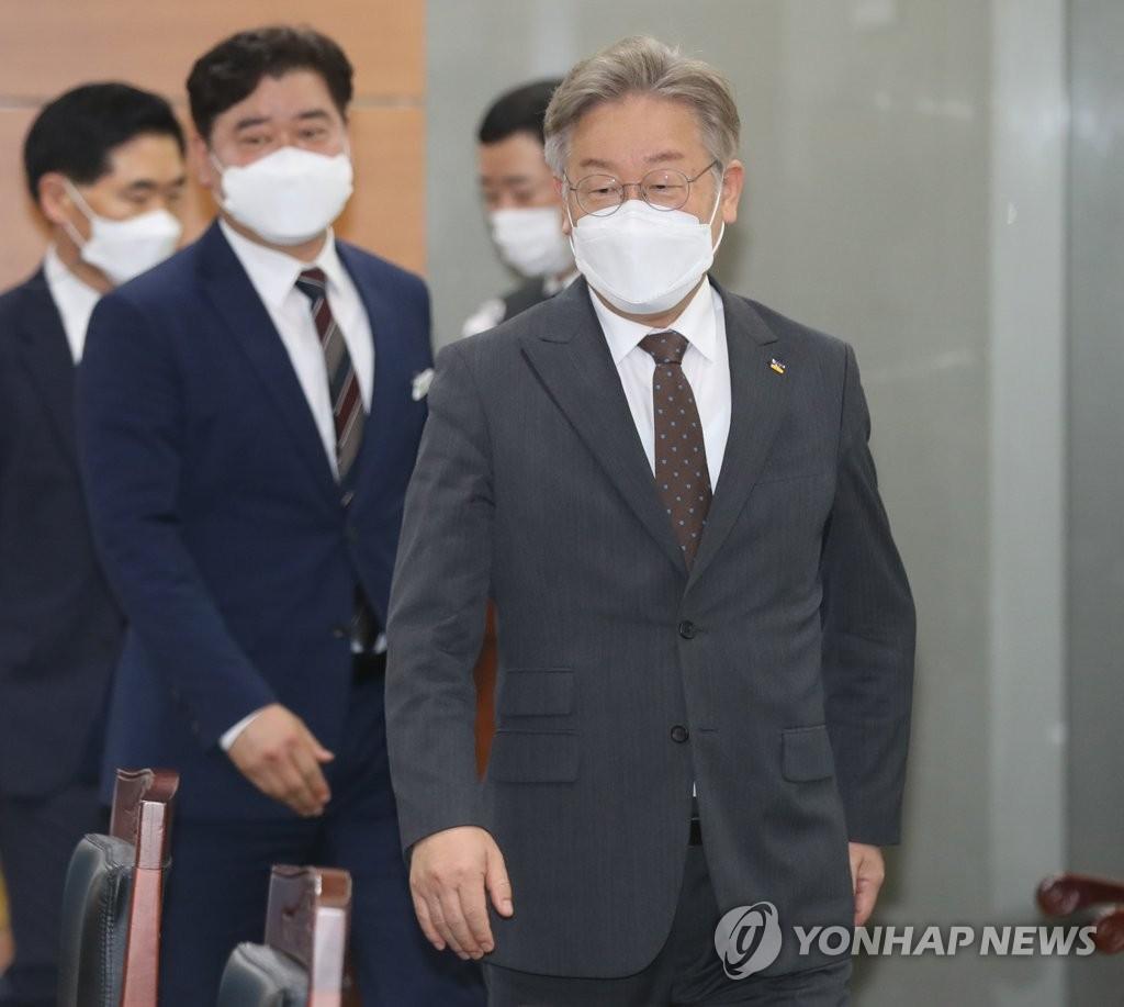 이재명 지지모임 '민주평화광장' 내일 출범…친문 대거 가세