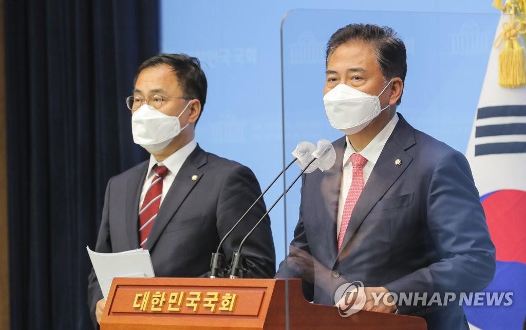 """野 박진·최형두 내일 방미…""""초당적 백신 의원외교""""(종합)"""