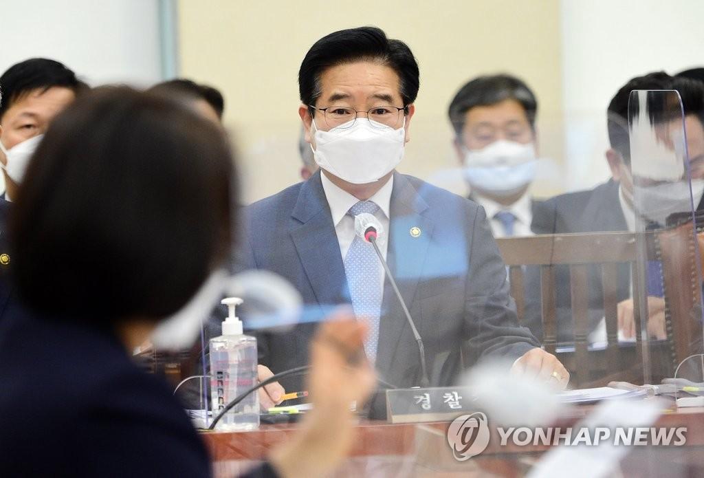 """김창룡 """"투기 수사 대상 국회의원 가족은 6명""""…1명 늘어"""