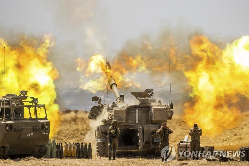 이스라엘, 가자지구에 지상군 투입…공습·포격 병행(종합)