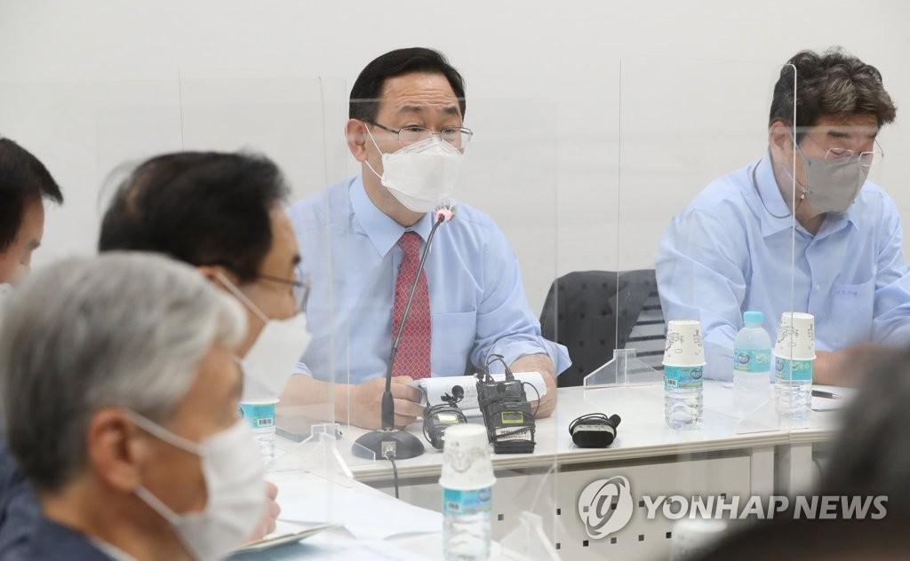 """주호영 """"尹 국힘 합류 의사, 여러 채널로 확인""""(종합)"""