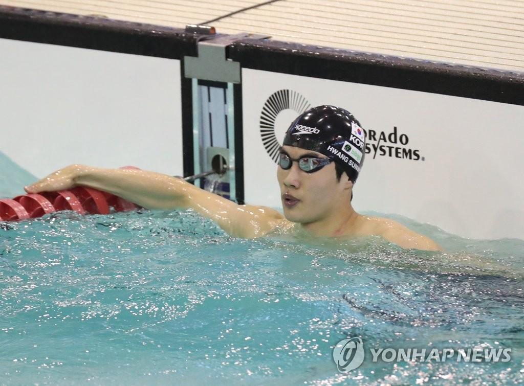 황선우, 자유형 100m서 또 한국신기록…생애 첫 올림픽 출전