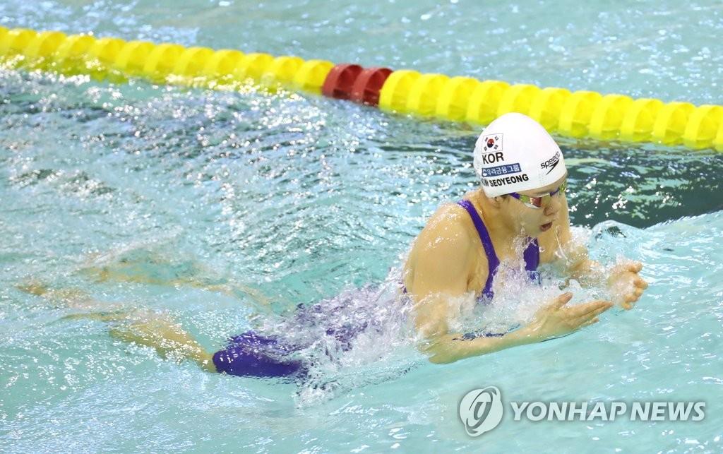 조성재, 평영 100m서 한국선수 최초 1분벽 돌파…도쿄행도 확정