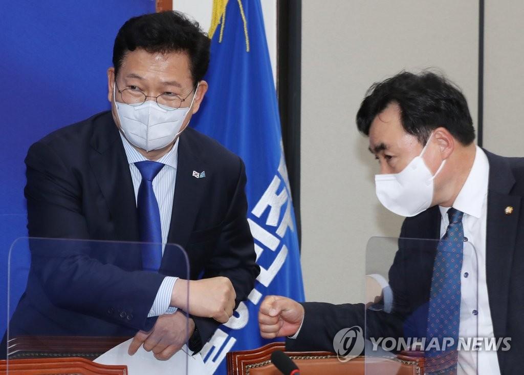 송영길표 '민심경청 프로젝트' 시작…지지율 견인 나선다