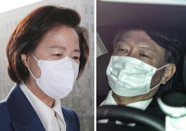 추미애 전 법무부 장관과 윤석열 전 검찰총장 /사진=연합뉴스