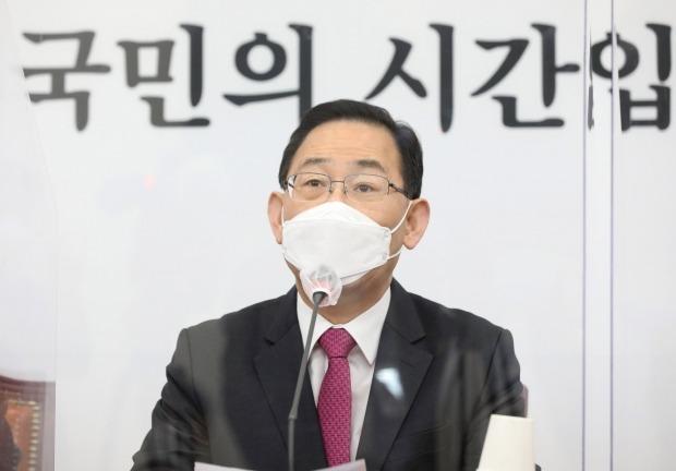 주호영 전 국민의힘 원내대표가 '강남역 묻지마 살인사건' 5주년을 맞아 희생자를 추모했다. /사진=연합뉴스