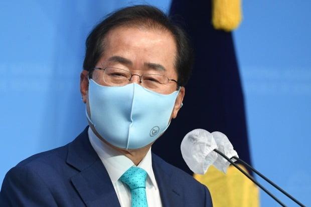 국민의힘 복당 신청 밝히는 홍준표 (사진=연합뉴스)