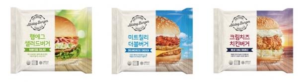 삼시세끼 햄버거 가능? CU, 하루종일 버거파 시리즈 출시