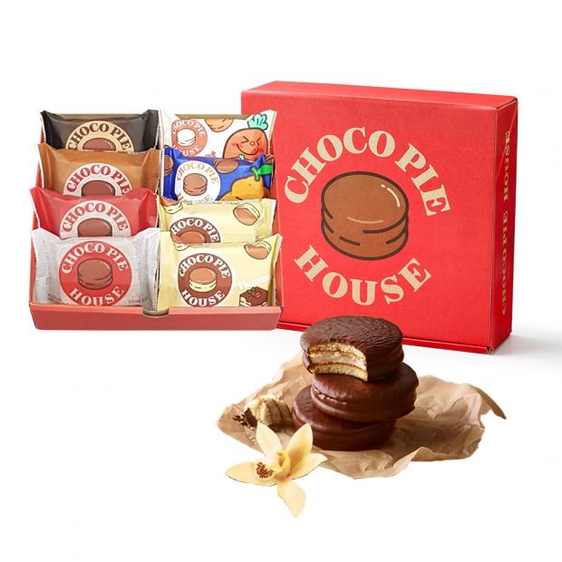 오리온, '초코파이하우스 선물세트' 카카오톡 선물하기 입점