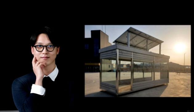 """[전남대기술지주회사 초기창업패키지] """"버스정류장에 깨끗한 공기와 충전 서비스 제공해드려요"""" … 스마트 버스정류장 제작하는 이지스퀘어"""