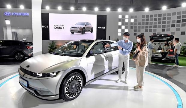 현대차, 'xEV 트렌드 코리아 2021' 참가./ 사진=현대차