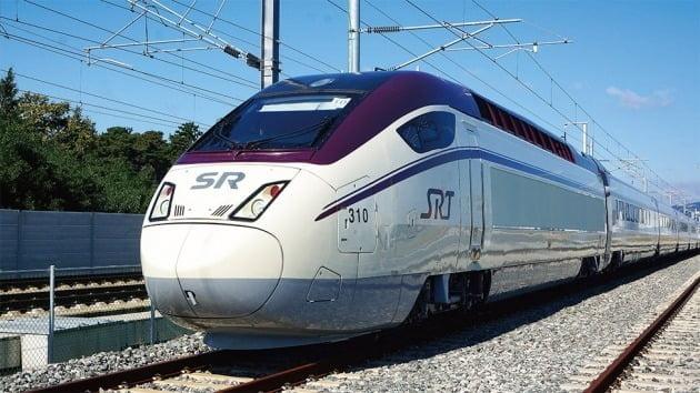 현대로템이 ㈜SR에 납품한 고속열차 /사진=현대로템