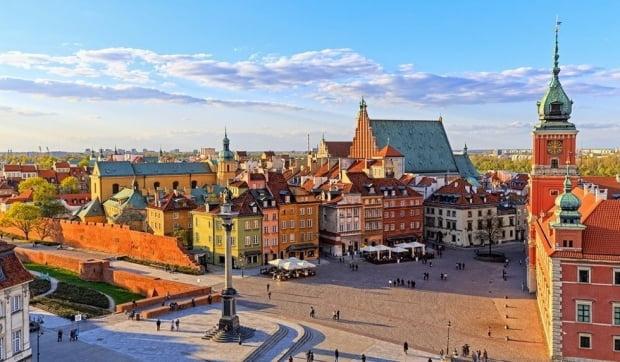 유럽 임상시험이 진행될 폴란드 바르샤바 전경.