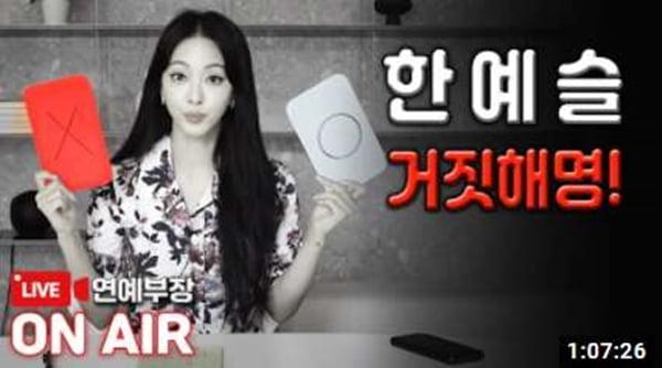 /사진=김용호 유튜브 채널 영상 캡처