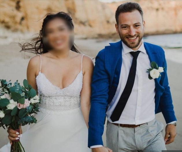 바비스 아나그노스토풀로스와 아내의 사진. /사진=더 선