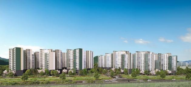 대우건설, 대구 '용계역 푸르지오 아츠베르' 견본주택 개관