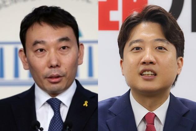 김용민 더불어민주당 최고위원, 이준석 국민의힘 대표 /사진=연합뉴스