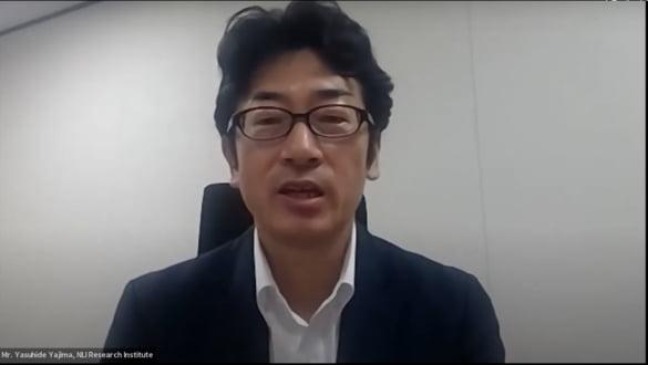 야지마 야스히데 닛세이기초연구소 수석 이코노미스트는 일본외신기자센터(FPCJ) 주최로 열린 온라인 기자간담회에서 스가 내각의 양대 핵심정책인 디지털화와 탈석탄화의 허구성과 미중 패권전쟁에 대응하는 일본의 모순된 전략을 조목조목 비판했다.