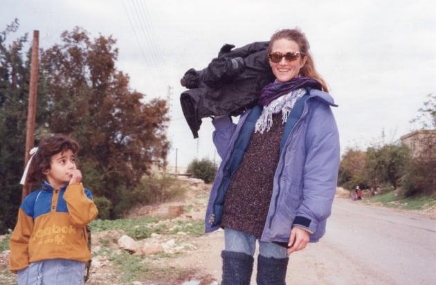 1995 중동 촬영 중