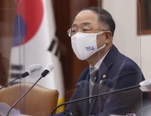 홍남기 경제부총리 겸 기획재정부 장관. 사진=뉴스1