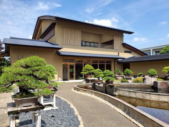 오미야분재미술관은 2010년 3월 세계 최초의 공립 분재미술관으로 개장했다. 도쿄=정영효 특파원