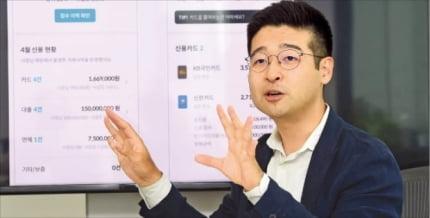 김동호 한국신용데이터 대표. 신경훈 기자