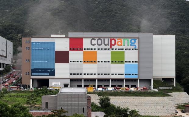 쿠팡 물류센터 대형 화재에도 주가 3% 가까이 오른 이유