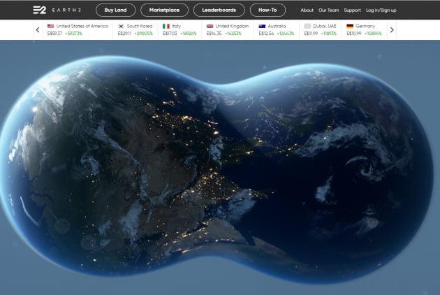 출처 EARTH2 홈페이지