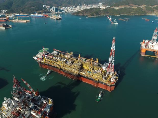 대우조선해양, 대형 부유식 원유 생산저장하역 설비 수주
