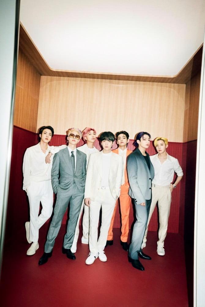 방탄소년단, `Butter`로 日 오리콘 주간 스트리밍 4주 연속