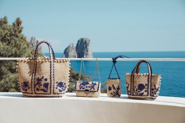LF 바네사브루노, 이국적 해변 닮은 '카프리 캡슐 컬렉션' 출시