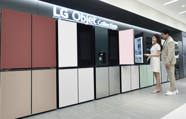LG 오브제컬렉션 상냉장 하냉동 냉장고 고객 선택의 폭 넓혔다