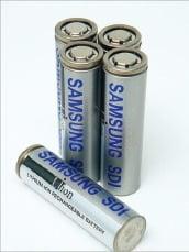 삼성SDI가 만든 원통형배터리. /사진=삼성SDI