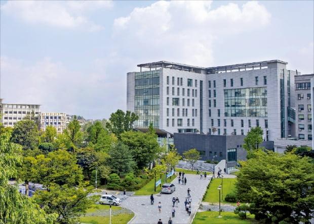 한국외국어대학교 전경