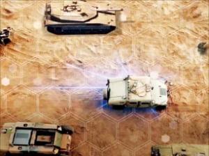이스라엘 군사용 AI 모듈 '아테나'의 개념도.