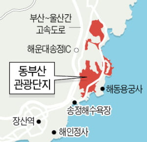 동부산 해안가 상권 모처럼 '들썩'