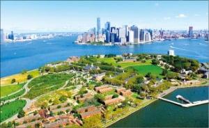 뉴욕 거버너스섬 '기후변화 실험실' 된다