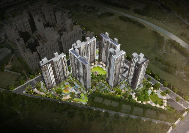 금호건설의 포천 금호어울림 센트럴 조감도. 출처: 금호건설